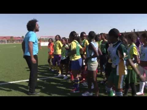 UNICEF Mozambique Goodwill Ambassador Stewart Sukuma visits