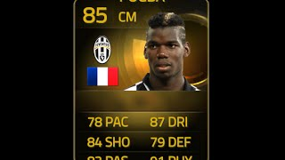 FIFA 15 SIF POGBA 85 Player Review & In Game Stats Ultimate Team