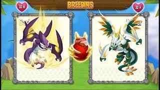 NEW BREEDING: High Fenrir Dragon & Defender Dragon   DRAGON CITY