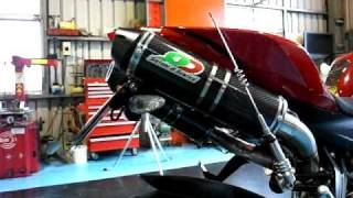 QD exhaust system for Ducati Streetfighter後排管