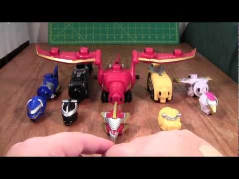 Power Rangers Gosei Great Megazord Review (Megaforce  Deluxe Bandai Toy)