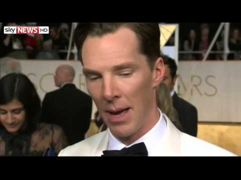 Oscars 2015: Benedict Cumberbatch Trying To Keep Calm - 22/02.2015