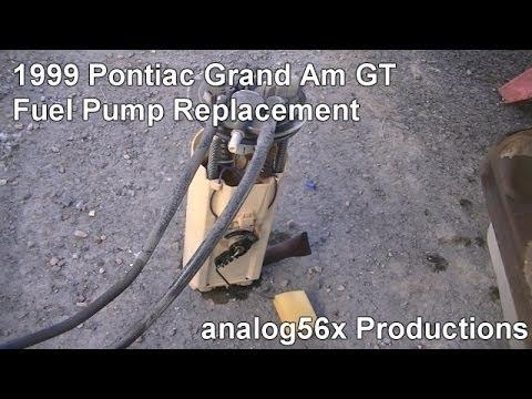 1999 Pontiac Grand Am GT: Fuel Pump Replacement (01.26.14 ...