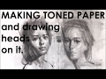 How To Draw Female Portrait 3 Monochromatic Under Painting 3 3