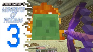 Minecraft Labyrinth Of Puzzles - EP03 - Slimey