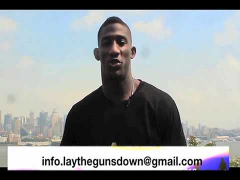 NY Giants Mr. Antrel Rolle's Lay the Guns Down Foundation Anti-Gun Violence PSA