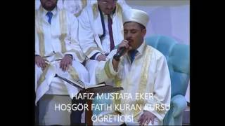 HAFIZ MUSTAFA EKER - the most beautiful Quran Recitation