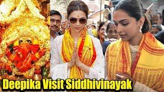 Deepika Padukon शादी के लिए आशीर्वाद लेने पहुंची Siddhivinayak Mandir | DeepVeer Marriage