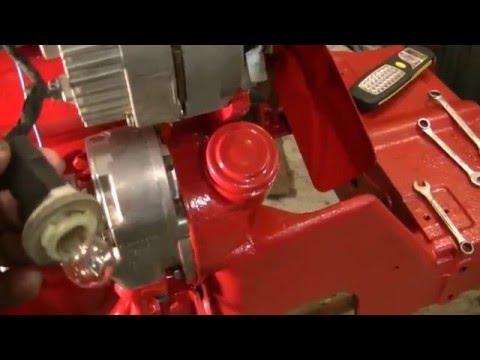6 Volt to 12 Volt Conversion on 4 cyl IHC Tractor w/engine start