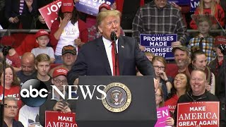 Trump delivers closing message ahead of midterm elections