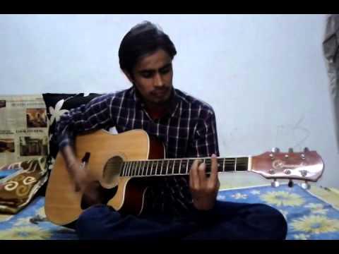 Dil Ne Tumko Chun Liya Hai  solo (with Guitar) By Rakesh raja video