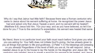 Joseph Prince Done As You Have Believed 6 24 2014  AVI