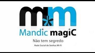 Mandic Magic - Utilizar o App de Redes Wi Fi