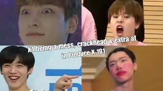 "X1 being a mess, crackhead & extra af in ""Produce X 101"""