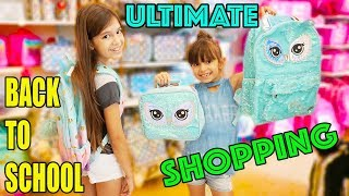 BACK TO SCHOOL SUPPLIES SHOPPING and HAUL 2018!