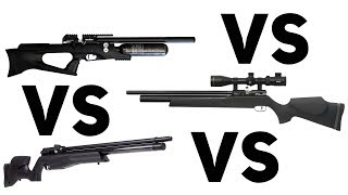 BROCOCK VS AIR ARMS VS FX - Ultimate Battle of the High End Airguns!