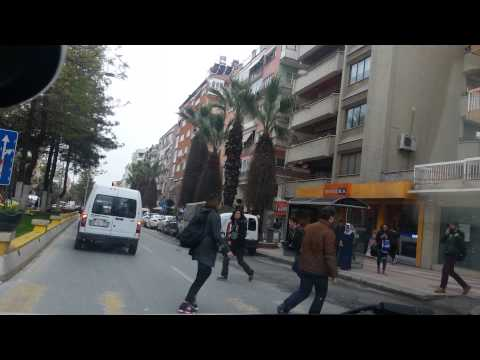 Aydin city trip tour whit car in Turkey New Explore APRIL 2015 2.UHD VIDEO