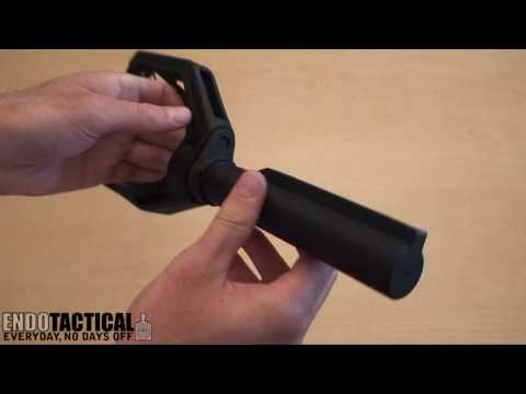 Preparing the Tactical Stock Adapter for the Glock (with Magpul CTR stock)