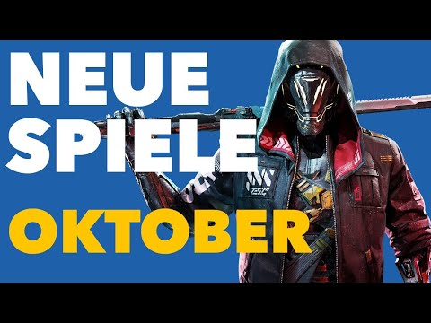 Im Oktober kommen SOOOO viele neue Spiele raus! - Release-Vorschau