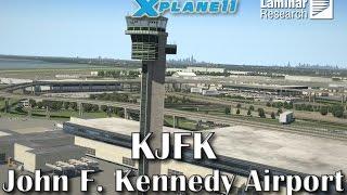 Laminar Research KJFK John F. Kennedy Airport for X-plane 11