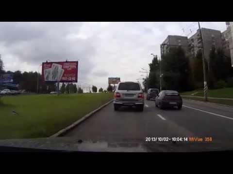 ДТП на Севастопольском проспекте 02.10.2013