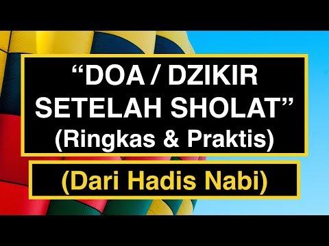 Video bacaan doa setelah sholat
