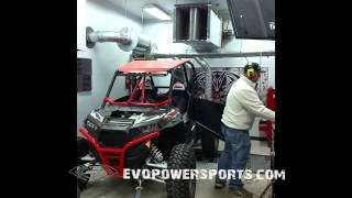 EVOLUTION POWERSPORTS DYNO TESTING STAGE 3 ECU REFLASH POLARIS RZR XP TURBO