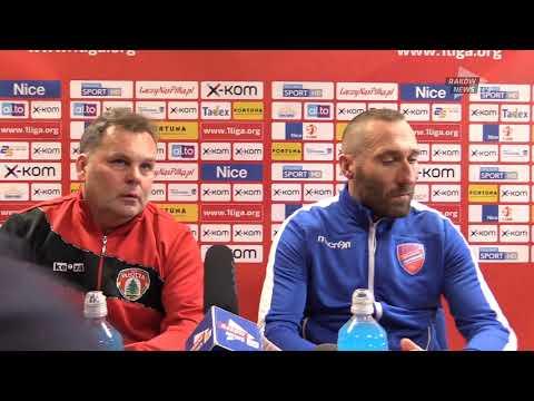 Konferencja po meczu. // RKS Raków - Puszcza 3:1 // Raków News TV