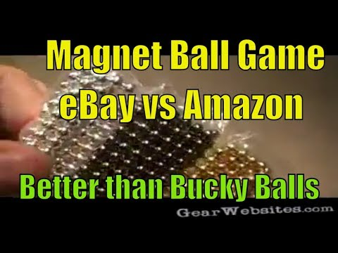 Game: Magnet Balls from eBay