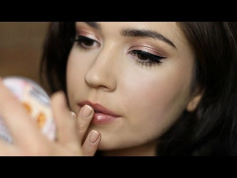 Rose Gold Makeup Tutorial