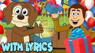 Happy Birthday WITH LYRICS | Nursery Rhymes And Kids Songs