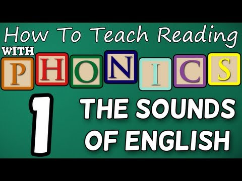 How to teach reading with phonics – 1/12 – The Alphabet & Letter Sounds – Learn English Phonics!