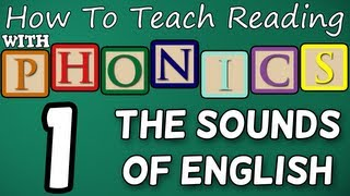 How to teach reading with phonics - 1/12 - The Alphabet & Letter Sounds - Learn English Phonics!