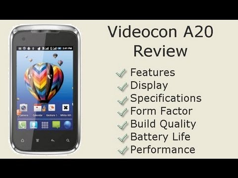 Videocon A20 Review- Budget Smartphone Detailed Review, Features, Performance And Build Quailty