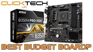 Budget Value Ryzen Motherboard :: MSi B350M Pro-VDH Micro ATX :: Unboxing & Overview