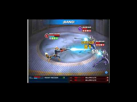 marvel avengers alliance nuevo simulador rocket raccoon