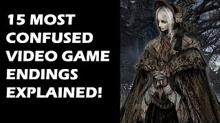 Real Meanings Behind These 15 CONFUSED Video Game Endings