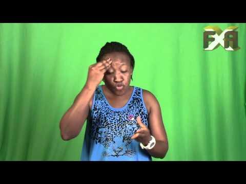 GHANA american sing language