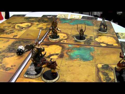 Left Hand Reviews #48 - Gencon '14: Golem Arcana Demo