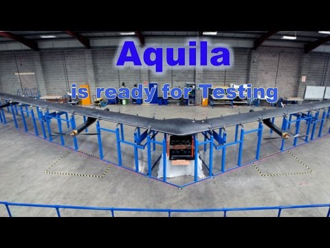 "Facebook built  Giant Drone ""Aquila"" to provide Internet Connectivity from Sky."