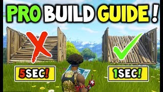 How to Build like a PRO In Fortnite Battle Royale + (MASTER BUILDING Guide to help you WIN!)