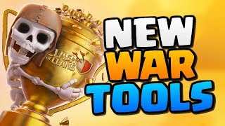 "NEW WAR TOOLS in ""Clash of Clans"" [2018] - CoC Update War Tools Explained!"