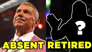 Vince McMahon ABSENT From Raw & Shock Retirement For WWE Legend?