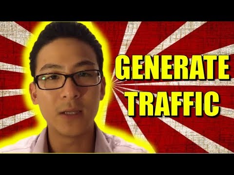 How To Generate Traffic For Affiliate Marketing - Traffic Training