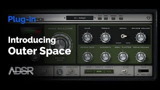 AudioThing Outer Space ( Space Echo ) - Vintage tape echo emulation [ Trailer ]