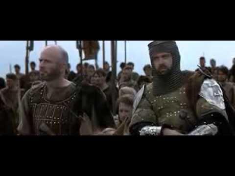 Scéne Finale Du Film Braveheart. Mel Gibson