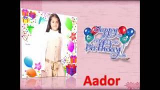 Happy Birthday Ronit Bose Roy daughter Aador