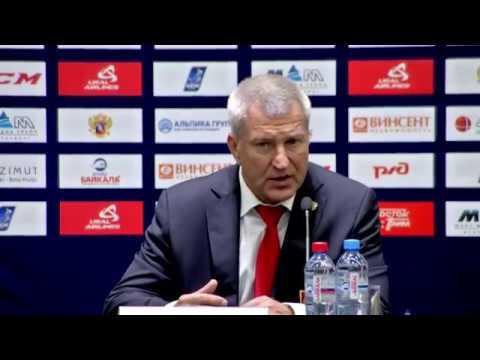 Олимпийская сборная России - СКА: пресс-конференция / Russia - CKA: press conference