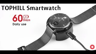 TOPHILL Swiss Smartwatch | 5ATM Waterproof | OLED Display (REVIEW & UNBOXING)