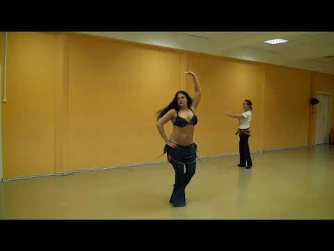 """Урок 8. Танец живота, восточные танцы, арабский танец. Школа танцев """"Экспромт"""" СПб"""